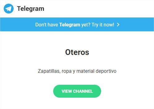 Telegram Oteros